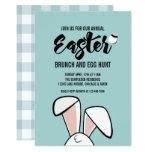 ❤️ Easter Bunny Ears Easter Brunch Egg Hunt Invite