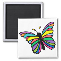 Easter butterfly magnet