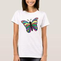 Easter butterfly shirt