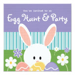 Cute Spring Easter Egg Hunt Invitation