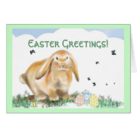 Easter Greetings Card