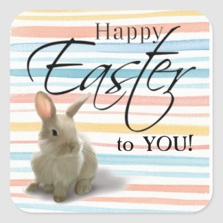 Easter Greetings Stickers
