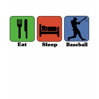 Eat Sleep Baseball t-shirt shirt