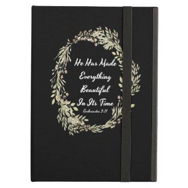 Ecclesiastes 311 NIV - Bible Verse Case For iPad Air