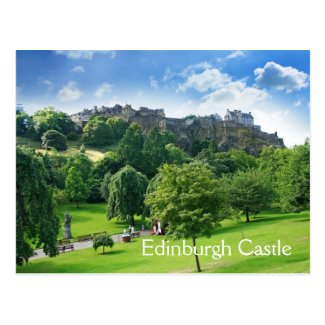 Edinburgh, Scotland, postcard