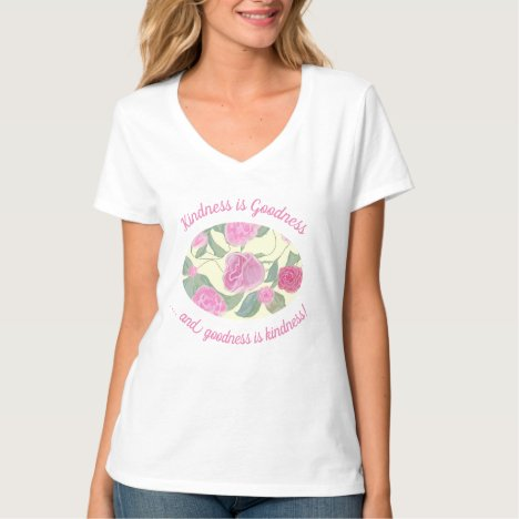 Editable Pink Floral Pattern With Quote