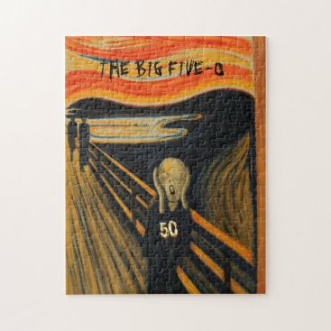 Edvard Munch - The Scream I'm Turning 50 Jigsaw Puzzle
