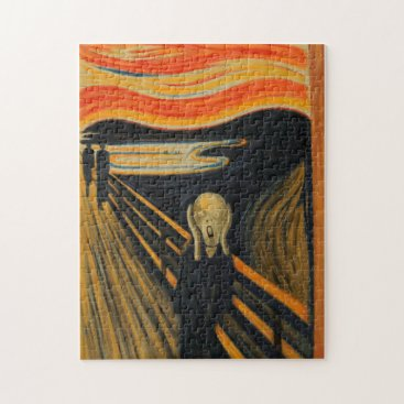 Edvard Munch - The Scream Jigsaw Puzzle