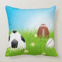 Ball Shaped Pillows - Decorative & Throw Pillows | Zazzle