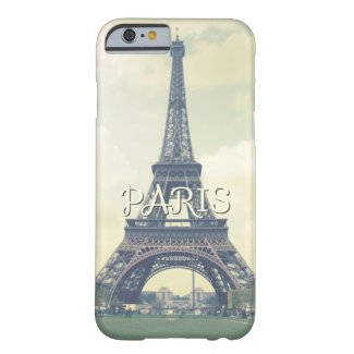 Eiffel Tower, Paris Barely There iPhone 6 Case