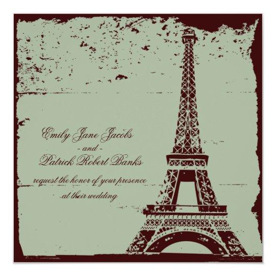 Paris Night Invitation
