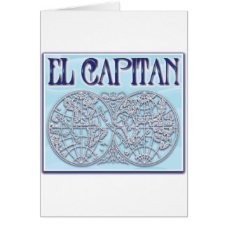 """El Capitan"" Greeting Card"