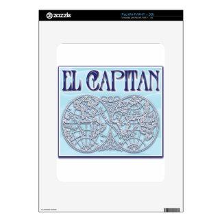 """""""El Capitan"""" iPad Skins"""