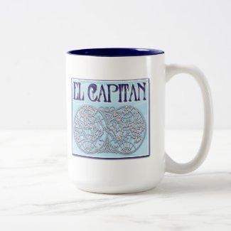 """El Capitan"" Ringer Coffee Mug"