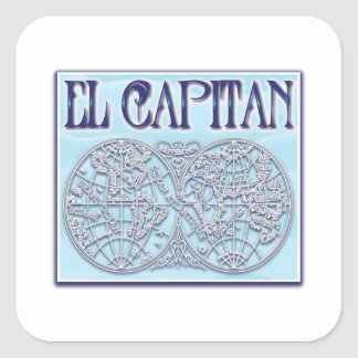 """El Capitan"" Stickers"