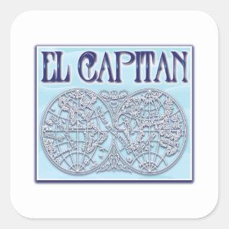 """""""El Capitan"""" Stickers"""