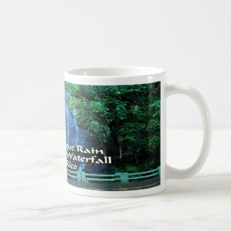 El Yunque Waterfall Classic White Coffee Mug