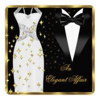 Black Tie Affair Invitations & Announcements | Zazzle