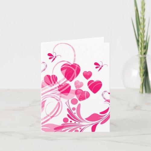 ELEGANT DESIGNER HEART NOTE CARDS