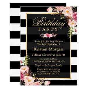 birthday invitations zazzle