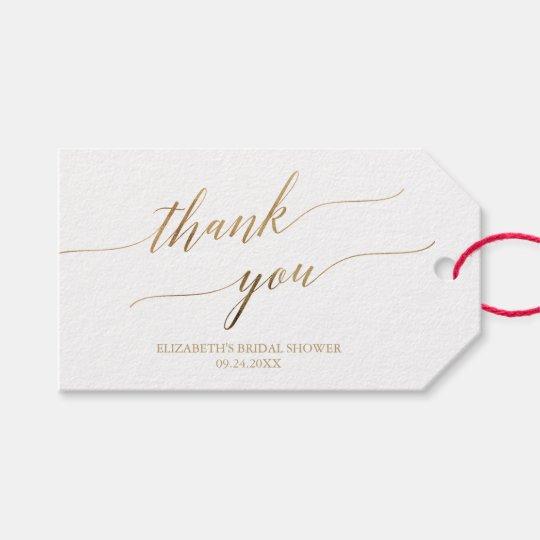 elegant gold calligraphy thank