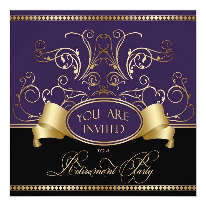 elegant party invites