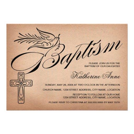 elegant vintage script cross