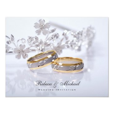 Elegant  Wedding Band Invitations