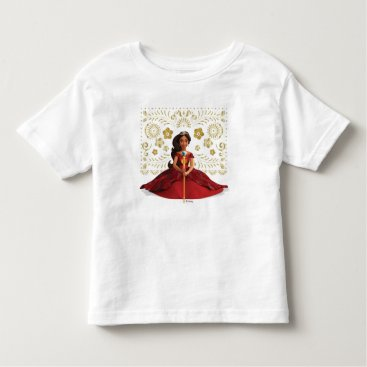 Elena | Elena Dressed Royally Toddler T-shirt