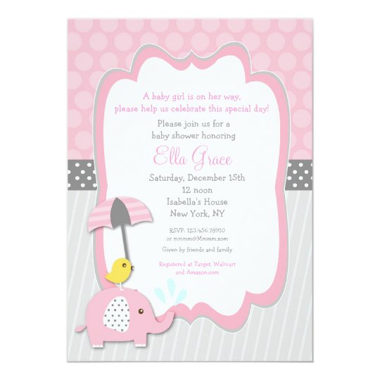 Personalize Your Own Baby Shower Invitations