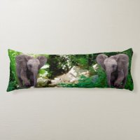 Elephant Body Pillow | Zazzle