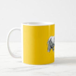 Elephant Mug mug