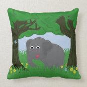 Elephant Pillow throwpillow