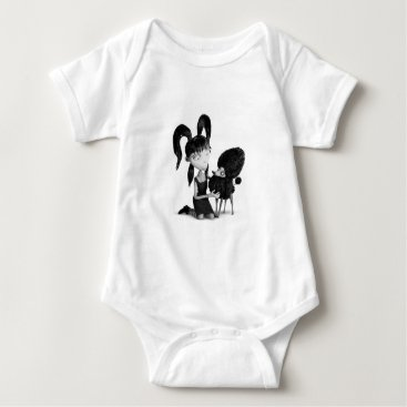 Elsa and Persephone Baby Bodysuit