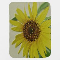 Sunflower Baby Blankets | Zazzle