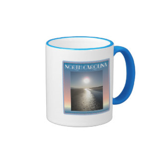 Emerald Isle Beach, NC at Sunset Coffee Mug