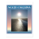 Emerald Isle Beach, NC at Sunset postcards