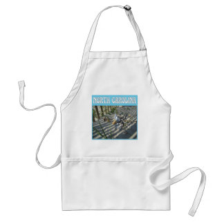 Emerald Isle Beach Seashell Collection Apron