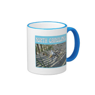 Emerald Isle Beach Seashell Collection Mugs