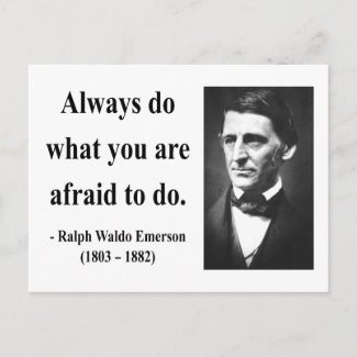 Emerson Quote 10b postcard