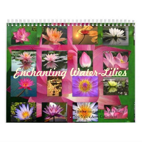 Enchanting Water-Lilies 2013 Fine Art Photography calendar