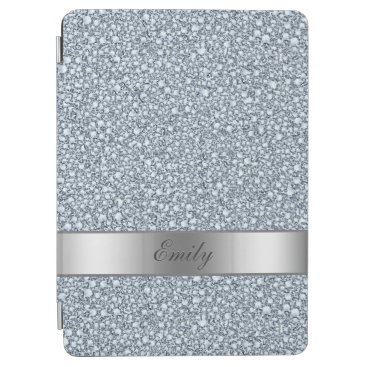 Encrusted Diamonds Look Glitter Patter iPad Air Cover
