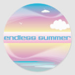 Endless Summer Pastels stickers