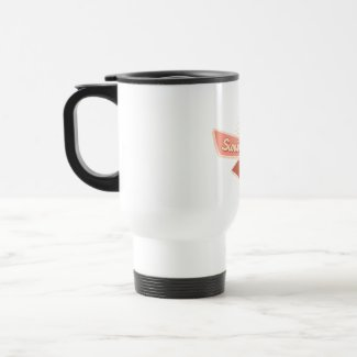 Endometrial Cancer Survivor Ribbon mug