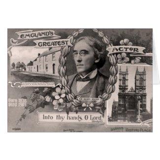 England's Greatest Actor Card