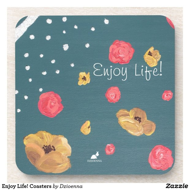 Enjoy Life! Coasters