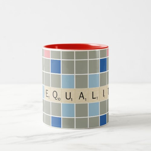 Equality Two-Tone Coffee Mug