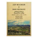 Estes Park Wedding Invitation Colorado (Part of a collection. Includes RSVP)