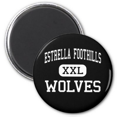 Show your support for the Estrella Foothills High School Wolves while