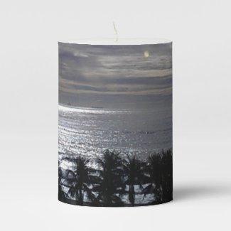 Evening Sky Pillar Candle